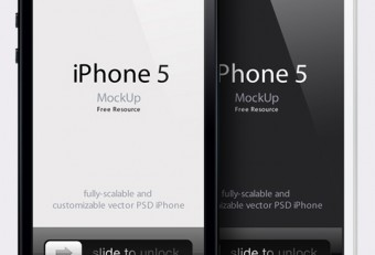 Free iPhone 5 PSD Templates: Latest iPhone 5 PSD Mockup Templates