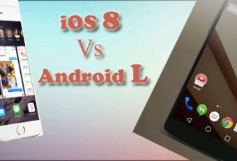 iOS 8 Vs Android L: Have A Glimpse Over Similarities & Differences