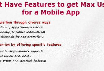 Some Features That Mobile Apps Must Possess To Engage Maximum Users