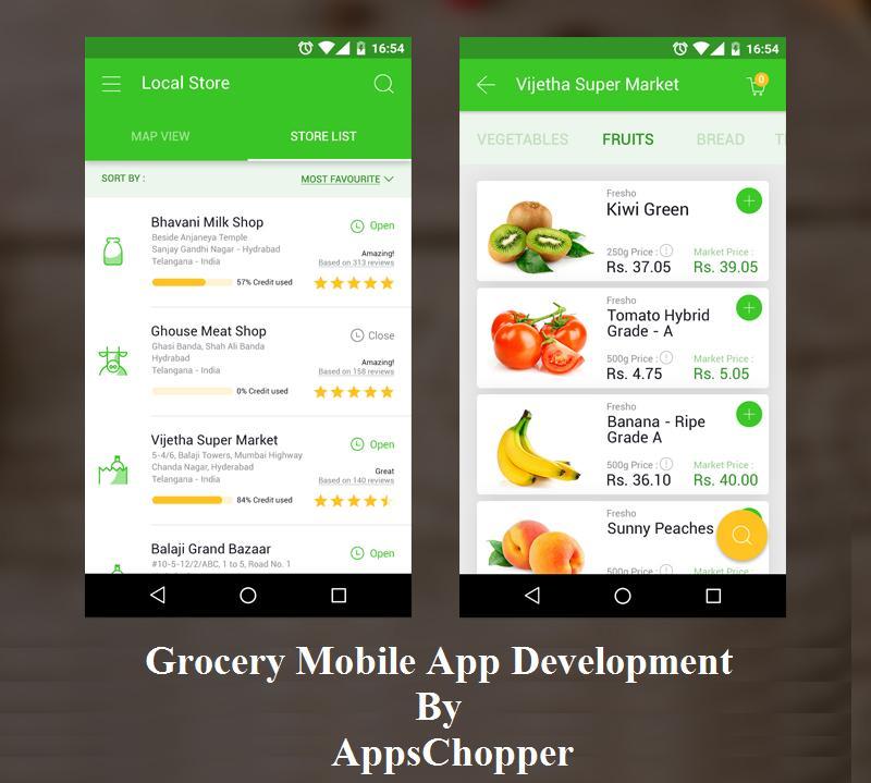 Grocery App Development : Get Grocery Mobile app like ...