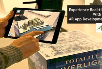 Experience Real-time 3-D SPACE With AR App Development Services
