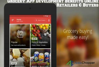 How Grocery App Development Benefits Online Retailers & Buyers?