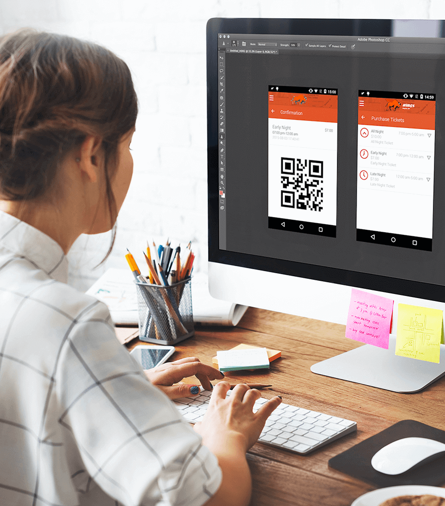 App Design for iOS & Android