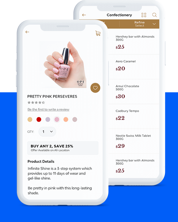 Delivering Retail App
