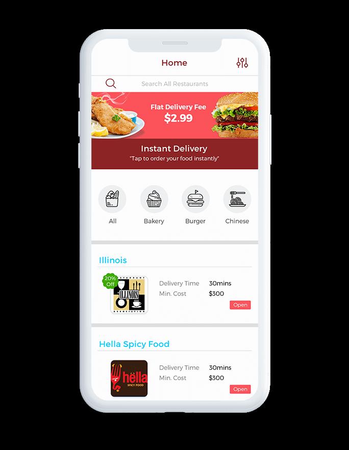 Locate Restaurants Nearby