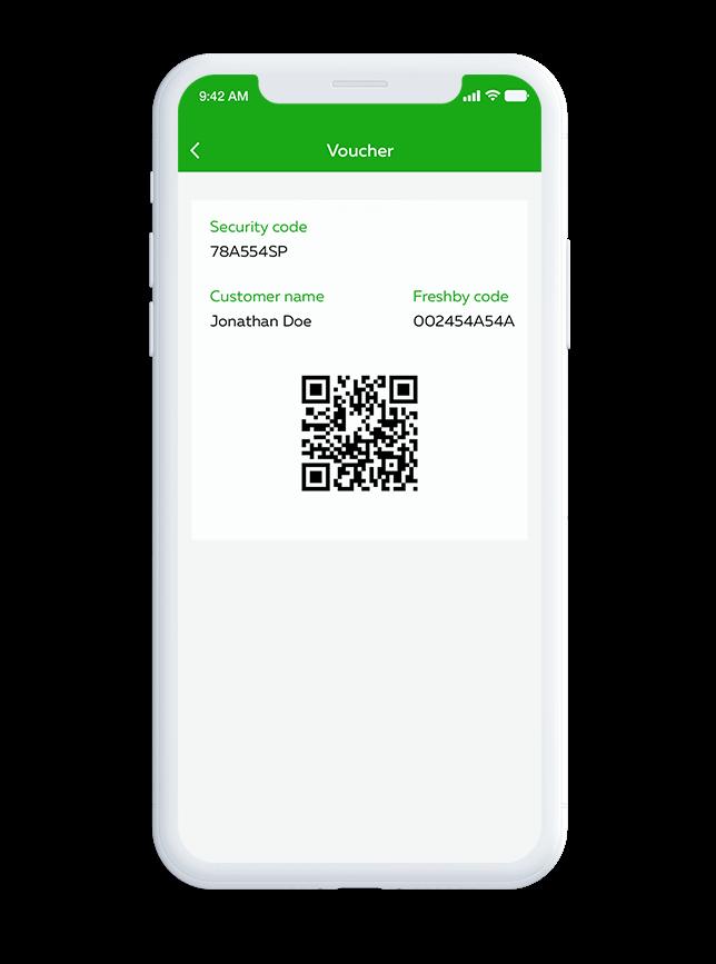 Order QR Code Vouchers