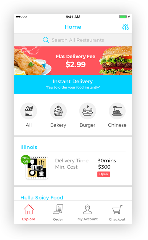 order here App Outcome