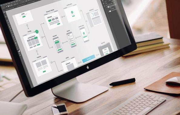 Wireframing App Design