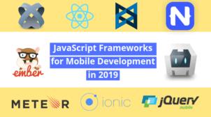 Javascript framework in 2019