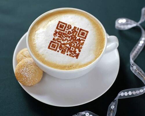 coffie QR code