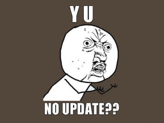 No-update