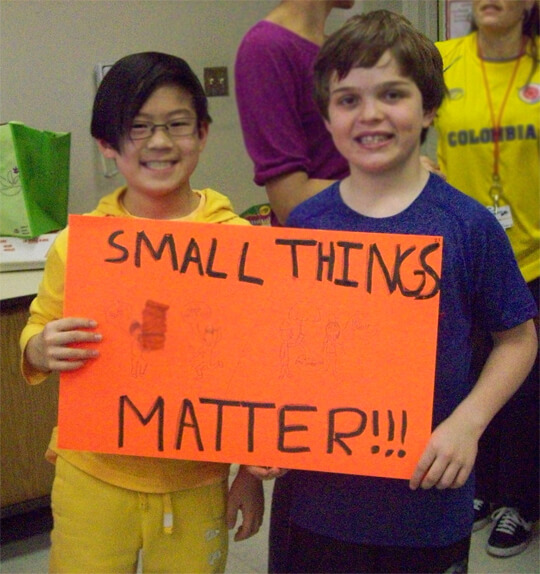 small-thing-matters