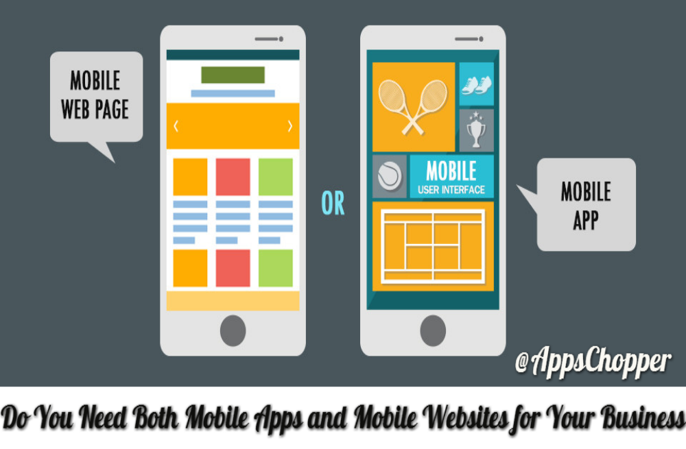 mobile apps and mobile websites