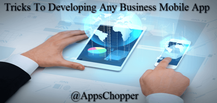 Developing Any Business Mobile App