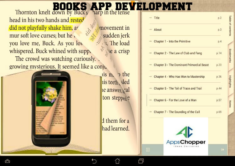 books app development