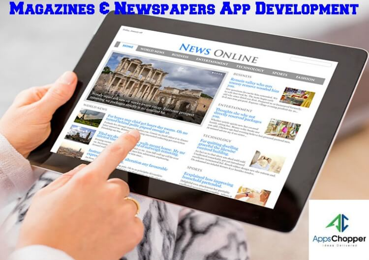 Magazines & Newspapers App Development