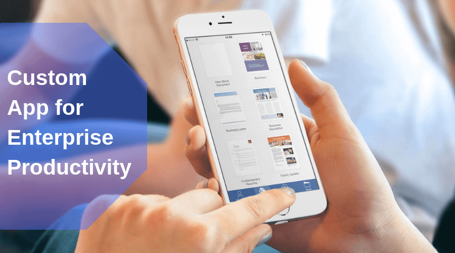 Custom Productivity App Development