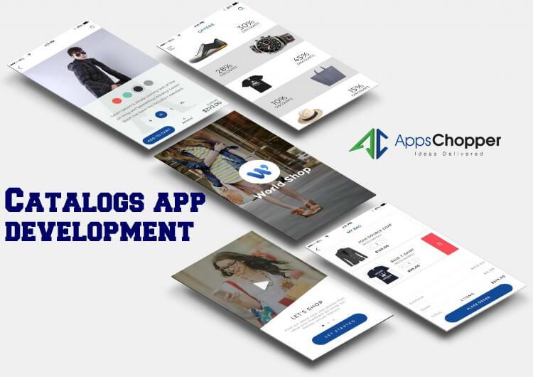Catalogs app development