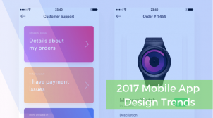 Mobile Apps Design Trends in 2017