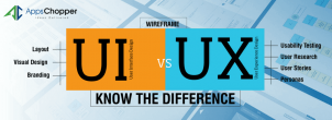 Differences Between UI and UX Design – AppsChopper Blog