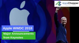 WWDC 2018 – AppsChopper