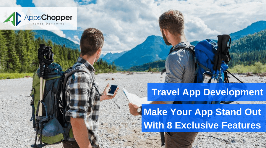 Travel app development -Appschopper