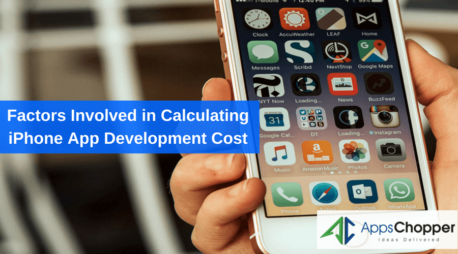 iPhone App Development Cost - AppsChopper