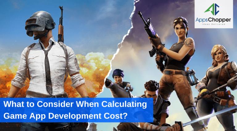 Mobile Game App Development Cost - AppsChopper