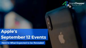 Apple's September 12 Events – AppsChopper
