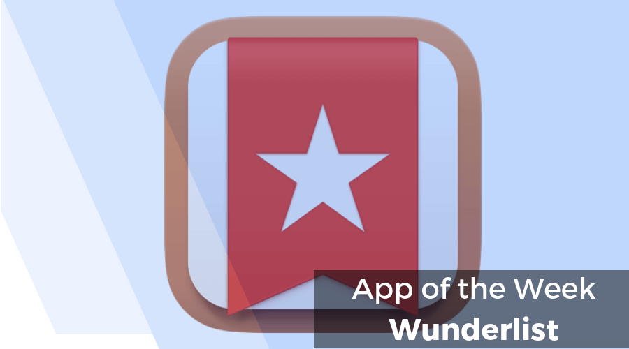 App of the Week - Wunderlist