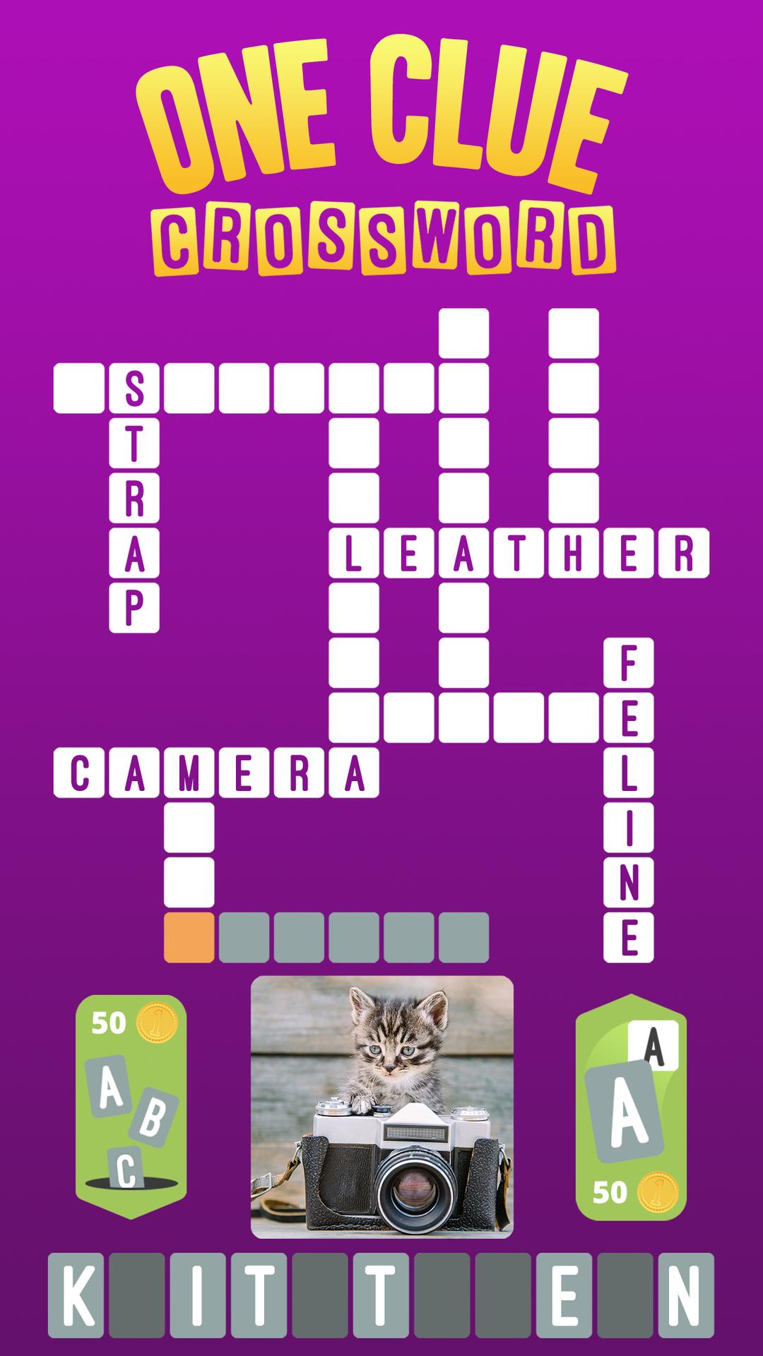 One Clue Crossword - App of the week