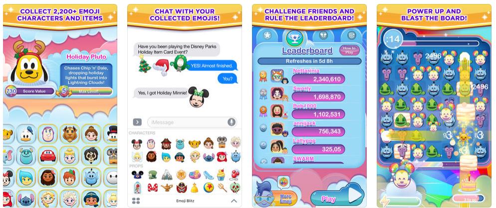 Disney emoji app