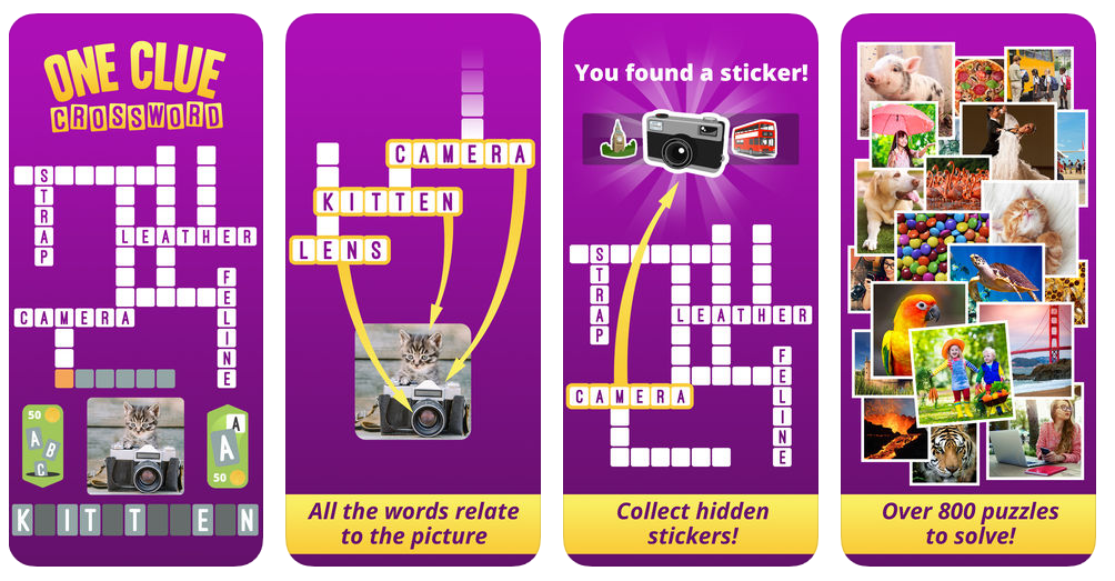 One Clue Crossword - App of the week Screen2