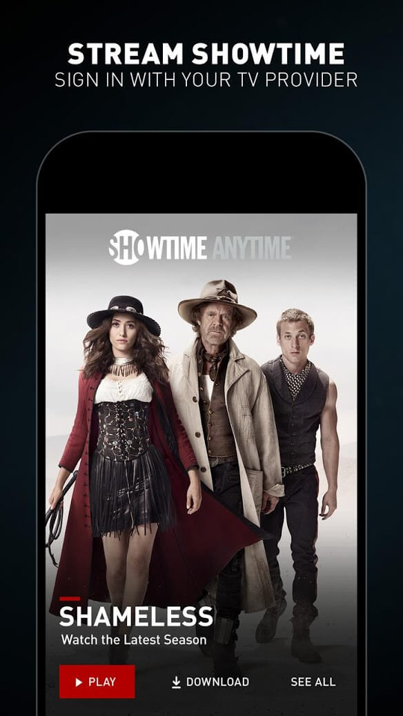 Showtime Screen 1