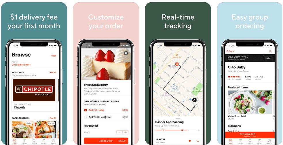 Door Dash App - App of the week