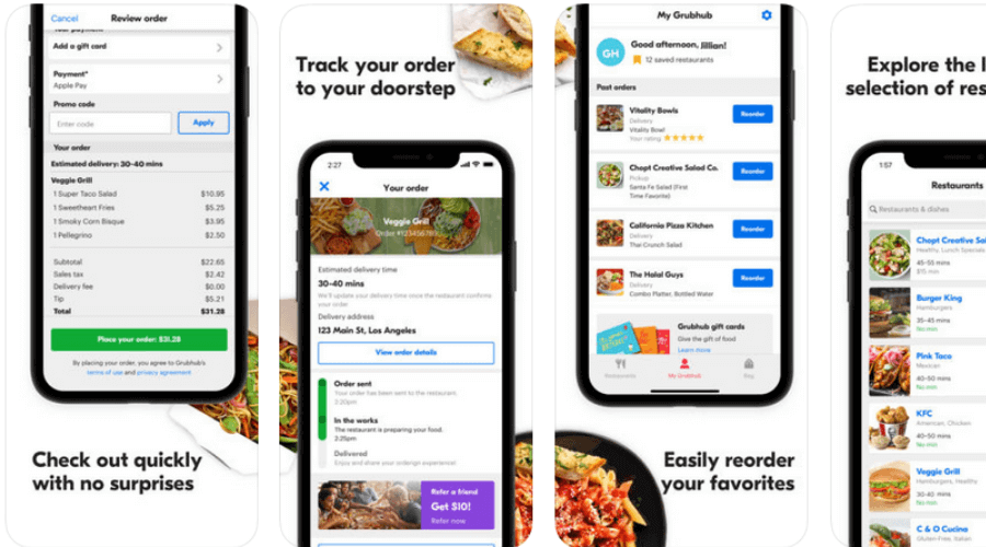 Grubhub Local Food Delivery
