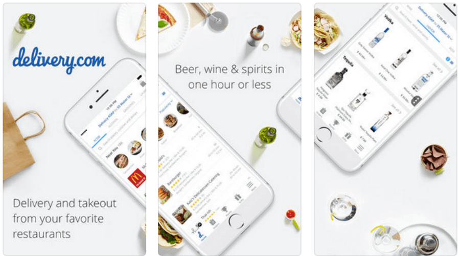 delivery.com - Food & Alcohol
