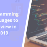 Programming Languages to overview in 2019 - AppsChopper