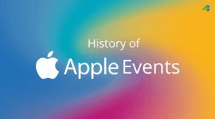 Apple Event History – AppsChopper
