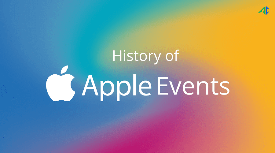 Apple Event History - AppsChopper